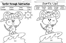 math coloring sheets for kindergarten