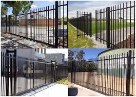 Modern Iron Fence Designs Hot Item Wrought Iron Fence Metal Modern Steel Fence Design