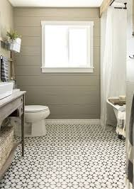 photo 7 of 10 bathroom floor tile patterned moroccan inspired black and white bathroom floor tile in a