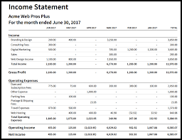 Create A Profit And Loss Statement Profit And Loss Statement Structure Income In Xero Create An