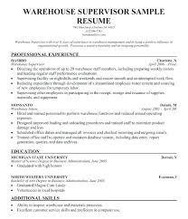 Supervisor Resume Sample Free Supervisor Resumes Security Supervisor Resume Sample Sample Security