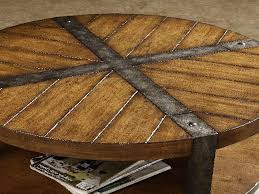 coffee table round wood coffee table with metal legs round coffee tables living room