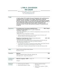 Good Nursing Resume Examples How Best Rn Resume Examples – Mycola.info