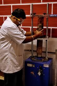 click to enlarge soil sample extruder sample extruder