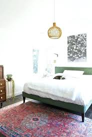 rugs for the bedroom area rug placement best