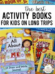 activity books for kids on long trips