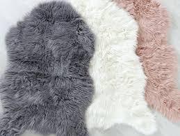 grey faux fur rug terrific grey faux fur rug large grey faux fur rug
