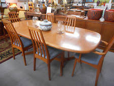 danish modern dining room chairs. Danish Modern Mid Century Niels Moller Teak Dining Table 6 Benny Linden Chairs Room C