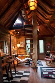 Tree House Architecture Whimsical Treetop Sanctuary On Crystal River Tree House Interior