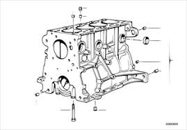 engine bmw 3 e36 316i m43 europe engine block