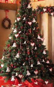 Elegant Christmas Tree Decorating Xmas Tree Decorating Ideas With Nice Bell And A Sign Of Love