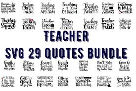 Available in png and vector. 44 Teacher Svg Bundle Designs Graphics