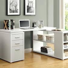 corner office desk with hutch. Corner Office Desk With Hutch For Home White Furniture Ideas Using Wooden Three Drawers Also Black