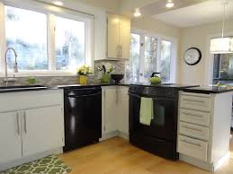 kitchen ideas white cabinets black appliances. Black Appliances With White Cabinets Outofhome Kitchen Ideas