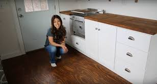 Small Picture Ana White Shows How to Build Tiny House Kitchen Cabinets