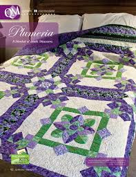 17 best Debbie Beaves images on Pinterest | Afghans, Block quilt ... & Plumeria by Christine Stainbrook featuring fabrics from Lovely by Debbie  Beaves for RJR as seen in · Applique Quilt PatternsQuilt ... Adamdwight.com