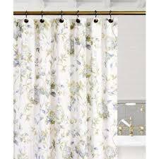 porcelain fl shower curtain