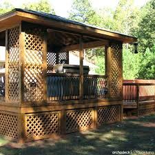 shade ideas for a deck dark brown square vintage wooden backyard shade structure polish ideas shade ideas for decks