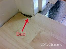 Lovely How To Install Beautiful Laminate Floors In One Afternoon   Do It  With Adorable