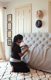 Enchanting Making A Headboard For A Bed 66 For Your House Interiors with  Making A Headboard
