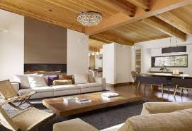 Living Room Ceiling Designs Living Room High Ceiling With Chandelier With Yellow Pattern