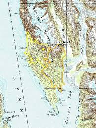 Southeast Alaska Nautical Charts Map Of South East Alaska Clublive Me