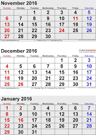 January 2015 Calendar Template January 2016 Calendars For Word Excel Pdf