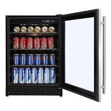built in beverage refrigerator. Can Cooler, Stainless Steel Beverage 23.4 In. 154 (12 Oz.) Built In Refrigerator
