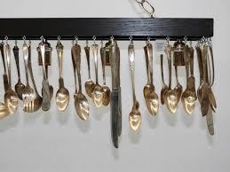 lot 97 silver plate flatware kitchen island chandelier