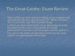 the great gatsby finish ppt video online  the great gatsby exam review