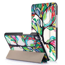 huawei drawing tablet. luxury colored drawing pu leather stand case cover shield for huawei mediapad t2 8inch pro tablet