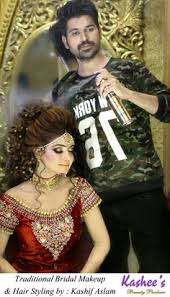 glamorous makeup n hairstyling by kashif aslam at kashee s beauty parlour