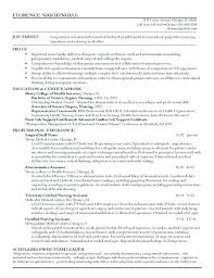 Registered Nurse Resume Examples Stunning Registered Nurse Resume Samples Example Of The Resume Resume Example