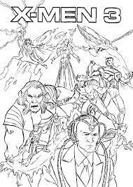 x men coloring pages 12