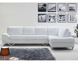 Living Room Leather Couches Modern Sectional Leather Couch White