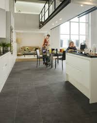 Kitchen Laminate Floor Tiles B Q Black Slate Laminate Flooring All About Flooring Designs