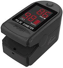 TrackAid Pulse Oximeter Portable Finger Oxygen ... - Amazon.com