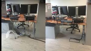 home office cable management. Ergonomic Desk Cable Management Uk Under Office Decor Home 4