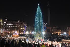 Trafalgar Square Christmas tree: The lighting ceremony and the ...
