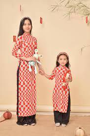 Áo Dài Đà Nẵng - ☘️ Áo dài mẹ và bé vải Lụa Hàn ✓ Chất vải...