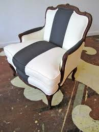 french chair upholstery ideas. right down the middle: racing stripe upholstery french chair ideas e