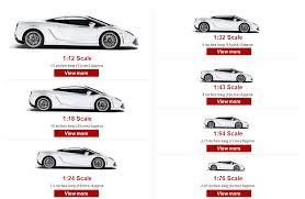 Model Car Size Guide Model Car World