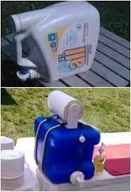 hand washing station 10 camping tips and gadgets you ll love this summer use an empty laundry