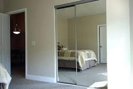 closet door mirror diy ideas cover sliding doors with white classy design bathrooms charming mir