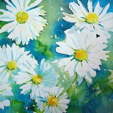 daisies painting wild daisies by ruth harris