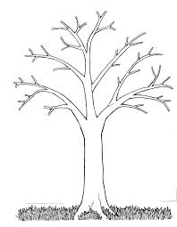 This wood provides acres of habitat to the. Bare Fall Tree Coloring Page Coloring Home
