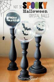 Crystal Ball Halloween Decoration