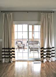 nice kitchen patio door curtain ideas 1000 about sliding pleasant can you put curtains on glass