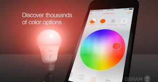 smartphone controlled lighting. Lightify Video Explains How Light Can Be Controlled With An App On A Smartphone Lighting