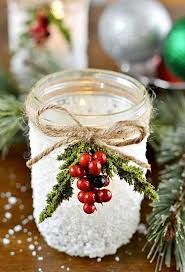 Mason Jar Decorations For Christmas Mason Jar Christmas Crafts Christmas Crafts and Ideas 36